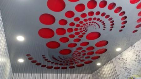 Перфорированные натяжные потолки с подсветкой – двойное удовольствие для эстетов