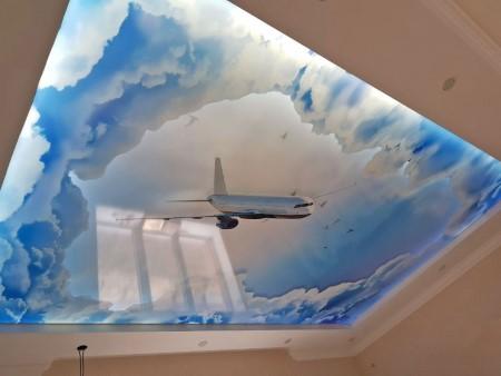 Натяжные потолки с 3D фотопечатью – сделать обычное невероятным